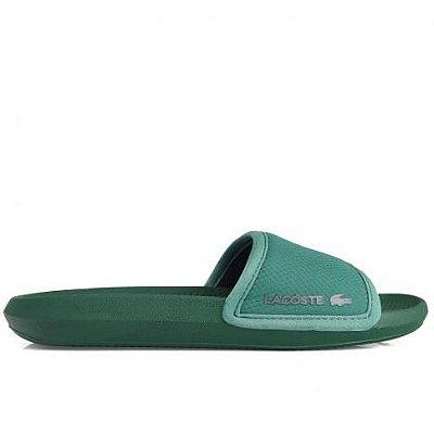 Chinelo Lacoste Croco Slide 220 1 Verde