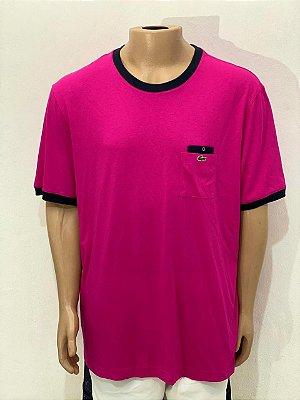 Lacoste Camiseta Rosa