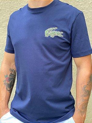 Lacoste Camiseta Magic Croc Azul
