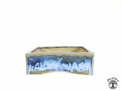 Vaso Retangular Esmaltado Sergio Onodera 23,5x16,8x7,6 cm