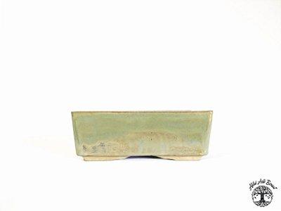 Vaso Retangular Esmaltado Sergio Onodera 18,8x13x7 cm