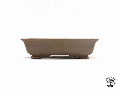 Vaso de Bonsai Jorge Ribas Retangular 16x12x3,5 cm