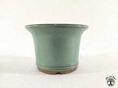 Vaso de Bonsai Redondo Literato 11,5x8,5cm