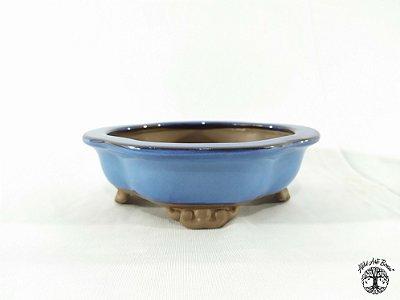 Vaso de Bonsai Flor Literato 15x13x5cm