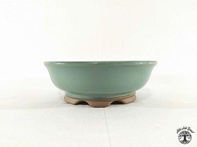Vaso de Bonsai Redondo Literato 20x6,5cm