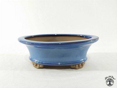 Vaso de Bonsai Oval Literato 19x14,5x6,6cm