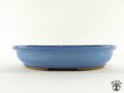 Vaso de Bonsai Oval Literato 34x24,5x7cm