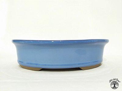 Vaso de Bonsai Oval Literato 34,5x27x9cm