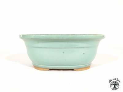 Vaso Bonsai Oval Chinês Yixing 21x16,5x8 cm (2ª Linha)