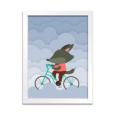 Quadro Lobinho Ciclista