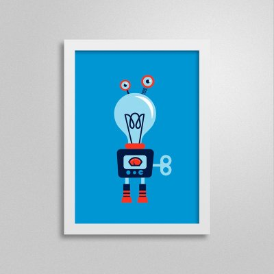 Quadro Robô D4Q4