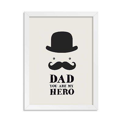Quadro Dad Hero