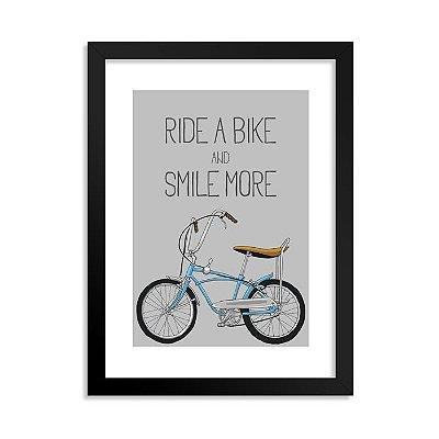 Quadrinho Bicicleta Ride a Bike Boy