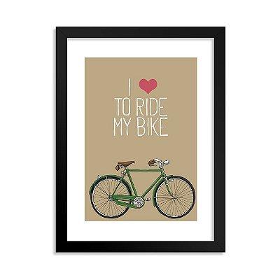 Quadrinho Bicicleta Love 1