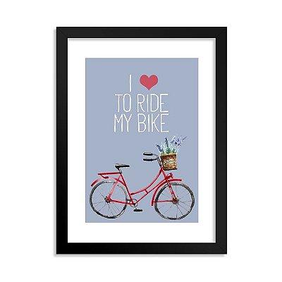 Quadrinho Bicicleta Love 2