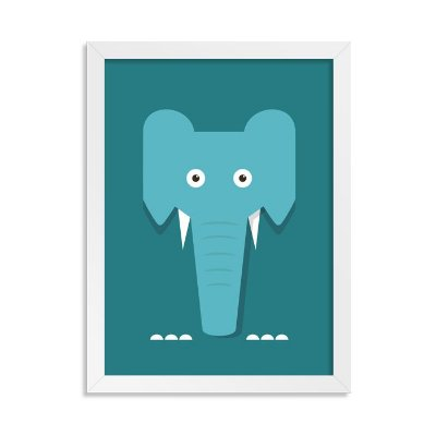 Quadro Totem Elefante