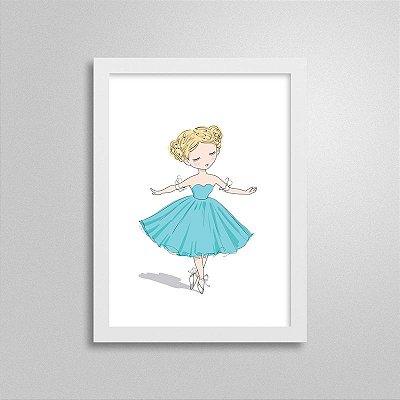 Quadrinho Dançarina 2