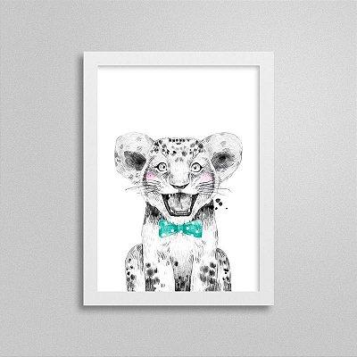 Quadrinho Safari Baby Leão