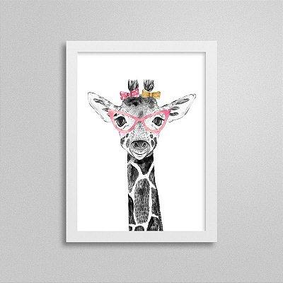 Quadrinho Safari Baby Girafa