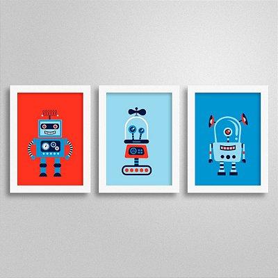 Kit Quadros Robô 1
