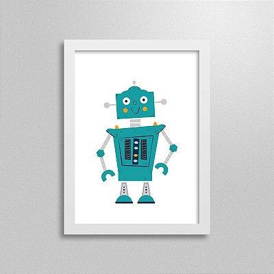 Quadro Robô Crixbot