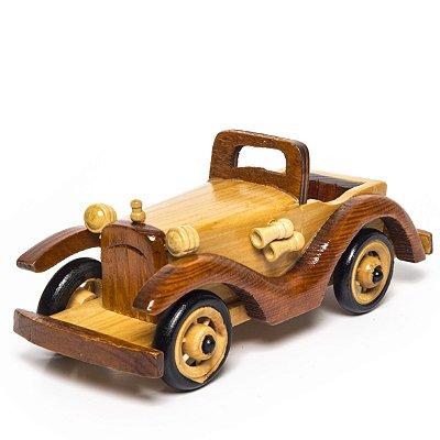 Miniatura Carro de Madeira - Decoração Quarto de Bebê - 02