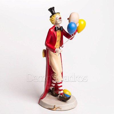Miniatura Palhaço com Balões