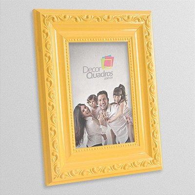 Porta-retrato Retrô Amarelo