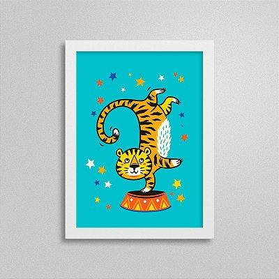 Quadro Circo - Tigre