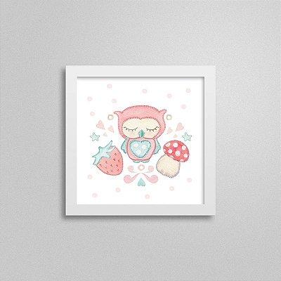 Quadro decorativo Sweet Baby Girl - Bons Sonhos 1