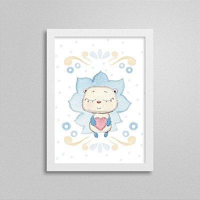 Quadro decorativo Sweet Baby Boy - Leãozinho