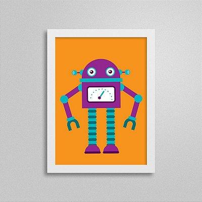 Quadro Robô Quarto de Menino - T1