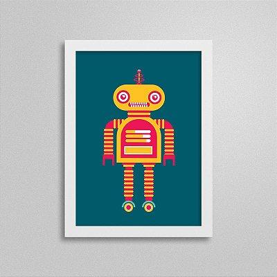 Quadro Robô Quarto de Menino - T3