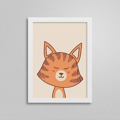 Quadro Bichinho - Tigre - Quarto de Bebê