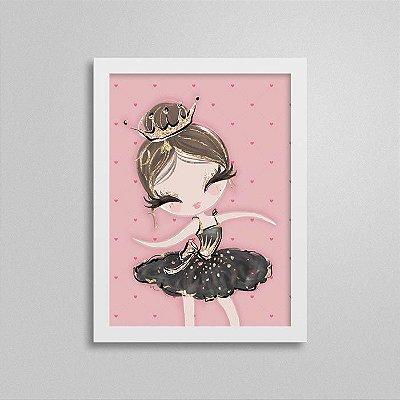 Quadro Balé Quarto de Menina - Bailarina 2