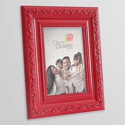 Porta-retrato Retrô Vermelho