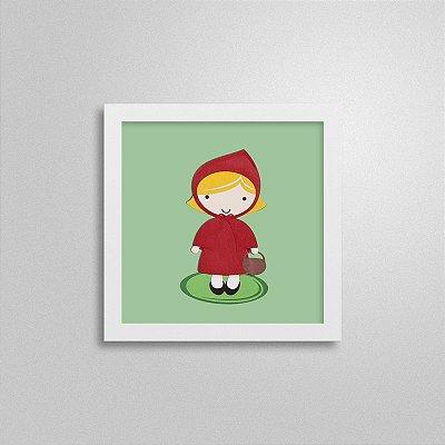 Quadro Infantil - Chapeuzinho Vermelho