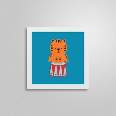 Quadrinho Infantil - Tigre