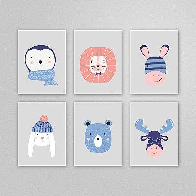 Desenho para imprimir - quadro quarto infantil - M6