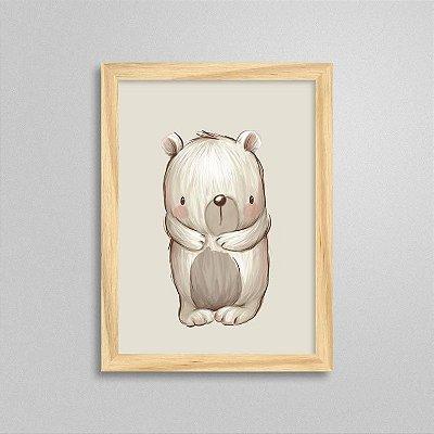 Quadro Bichinho Fofo - Urso