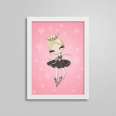 Quadro Balé e Bailarina - Black Swan 1