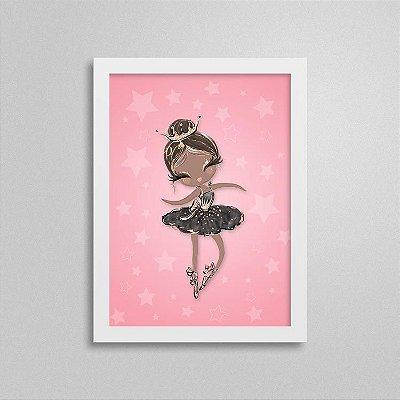 Quadro Balé e Bailarina - Black Swan 3