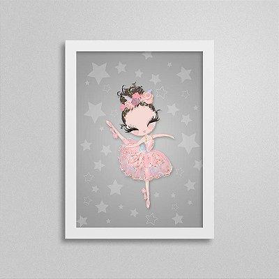 Quadro Balé e Bailarina - Love 2