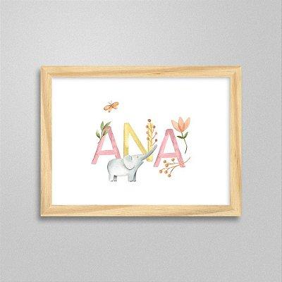 Quadro nome Ana