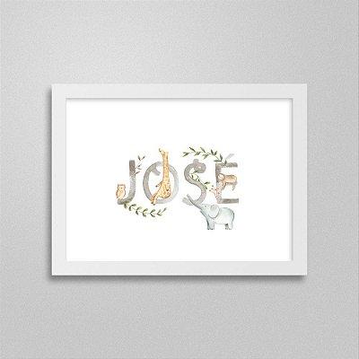 Quadro nome José