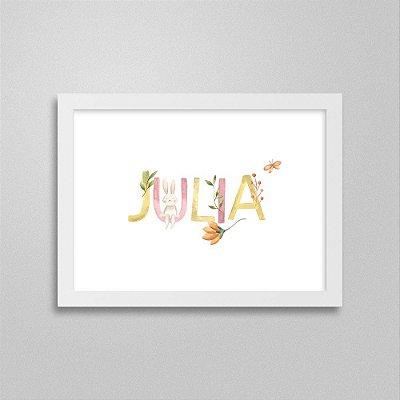 Quadro nome Julia
