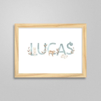 Quadro nome Lucas