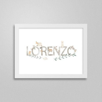 Quadro nome Lorenzo