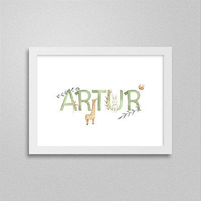 Quadro nome Artur