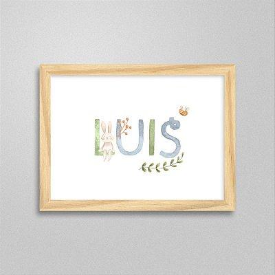 Quadro nome Luis